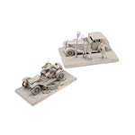 "Franklin Mint ""Great Cars of America"" Pewter figurines"