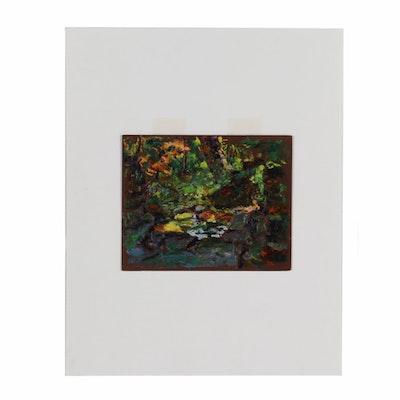 Robert Whitmore Landscape Oil Painting