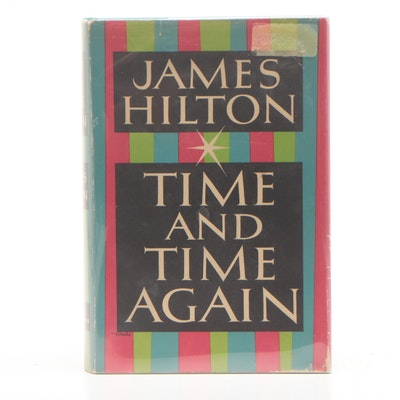 """1953 First Edition """"Time and Time Again"""" with Original Dust Jacket"""