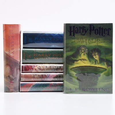 """""""Harry Potter"""" First American Edition Complete Set"""