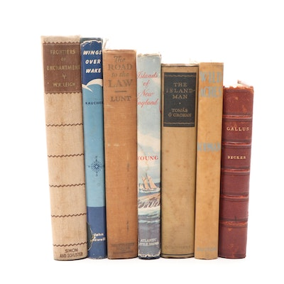 "Vintage Nonfiction featuring ""Gallus"" by W. A. Becker with Additional Volumes"