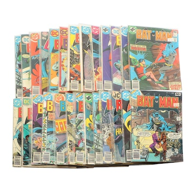 "Bronze Age DC ""Batman"" including #222 with Beatles Death Cover"