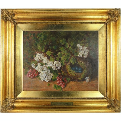 Vincent Clare Still Life Oil Painting