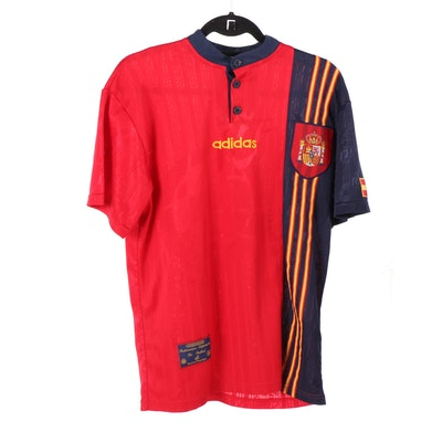 Men's Adidas Royal Spanish Football Federation Jersey