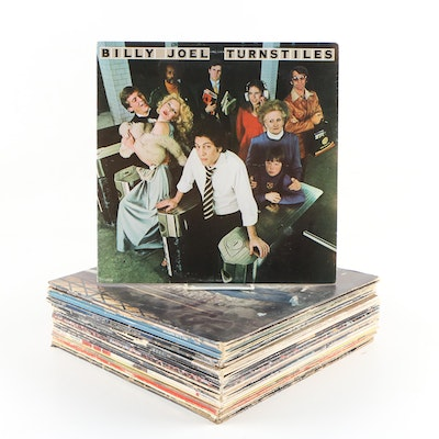 Record Albums including Billy Joel, Paul Simon, an the Doobie Brothers