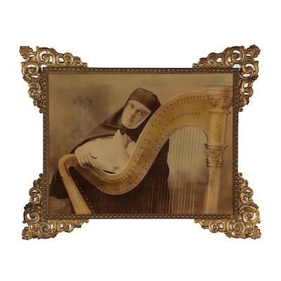J. I. Austen & Co. Tinted Silver Gelatin Photograph, Circa 1899
