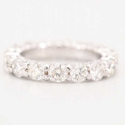 18K White Gold 3.25 CTW Diamond Eternity Band