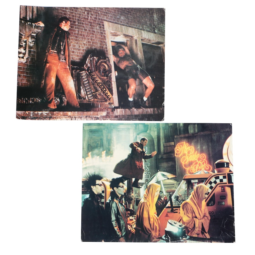 """""""Blade Runner"""" Offset Lithograph Promotional Lobby Cards, 1982"""