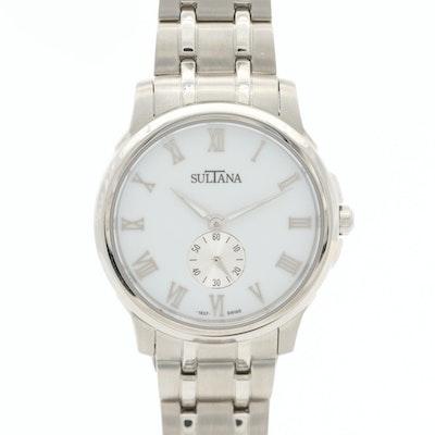 Sultana Bernice Stainless Steel Wristwatch