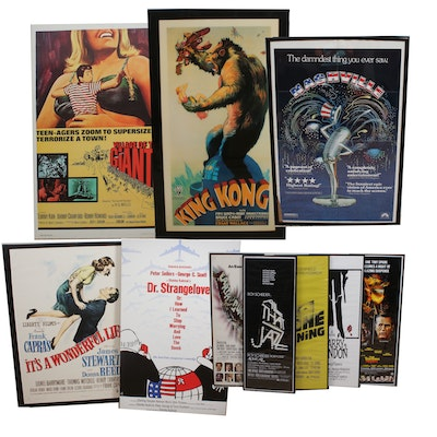 """Reproduction Film Posters Including """"Godzilla"""", """"The Shining"""" and More"""