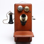 Antique Kellogg Hand-Crank Phone