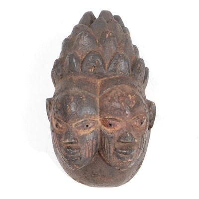 Wooden Yoruba Style Mask