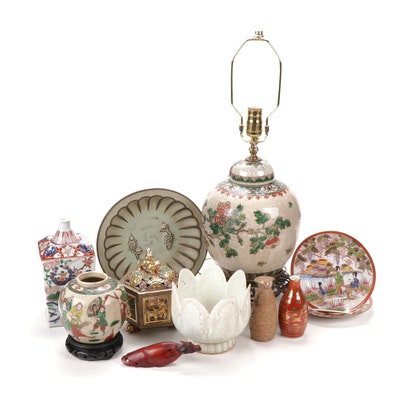 Chinese and Japanese Ceramics Decor Collection