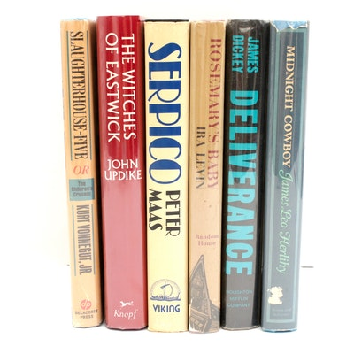 Book Club First Edition Novels with Vonnegut and Updike