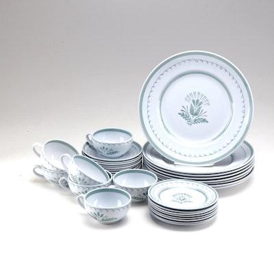 "Arabia ""Green Thistle"" Ceramic Tableware"