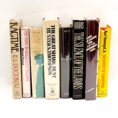 Late 20th Century First Edition Books