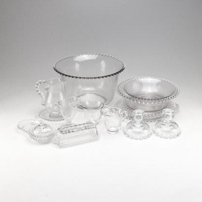 "Imperial Glass-Ohio ""Candlewick"" Dinnerware"