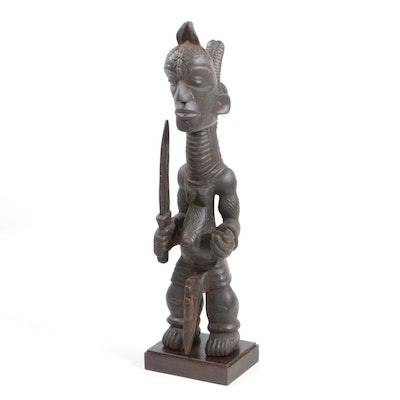 Wooden Luluwa Style Figure