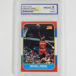 "1996/97 Fleer Michael Jordan ""Decade of Excellence"" Card, WCG GEM-MT 10"