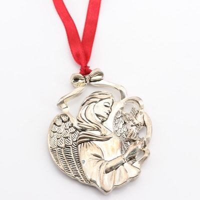 Gorham Silver Plated Angel Ornament