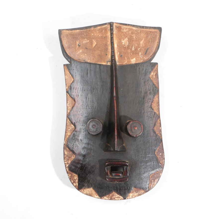 Wooden Grebo Style Mask