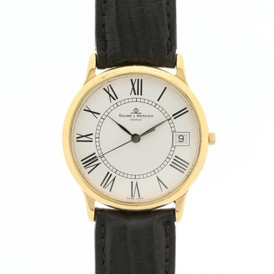 Baume & Mercier Classima 18K Gold Quartz Wristwatch