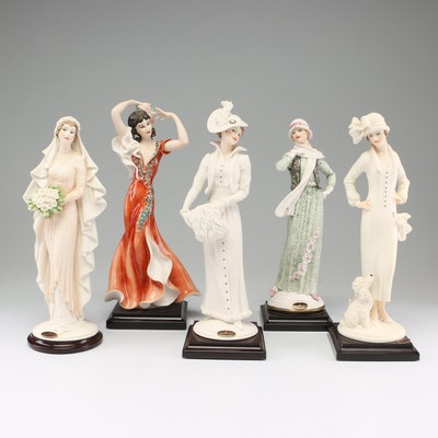 """Giuseppe Armani """"Our Magic Day"""" and Other Porcelain Figurines"""