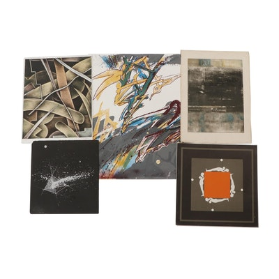 Five Late 20th Century Lithographs