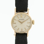 Vintage Movado 14K Yellow Gold Stem Wind Watch