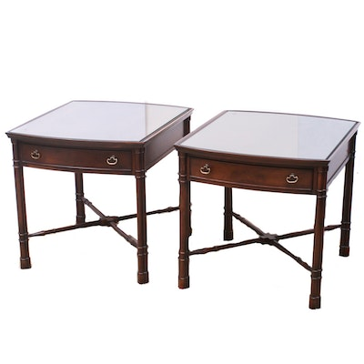 Hekman Wood Side Tables