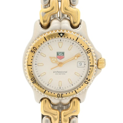 TAG Heuer S/EL Two Tone Quartz Wristwatch