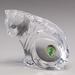 Waterford Feline Figurine