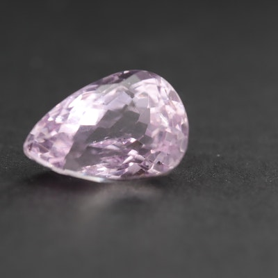 Loose 12.18 CT Kunzite Gemstone