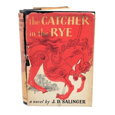 """1951 """"Catcher in the Rye"""" First Edition, Seventh Printing by J.D. Salinger"""