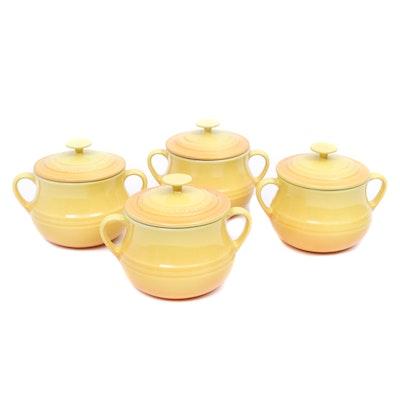 Le Creuset Individual Lidded Soup Bowls