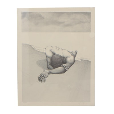 Gilbert Young Limited Edition Halftone Print