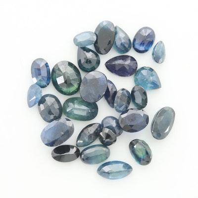 Loose 9.82 CTW Sapphire Gemstones