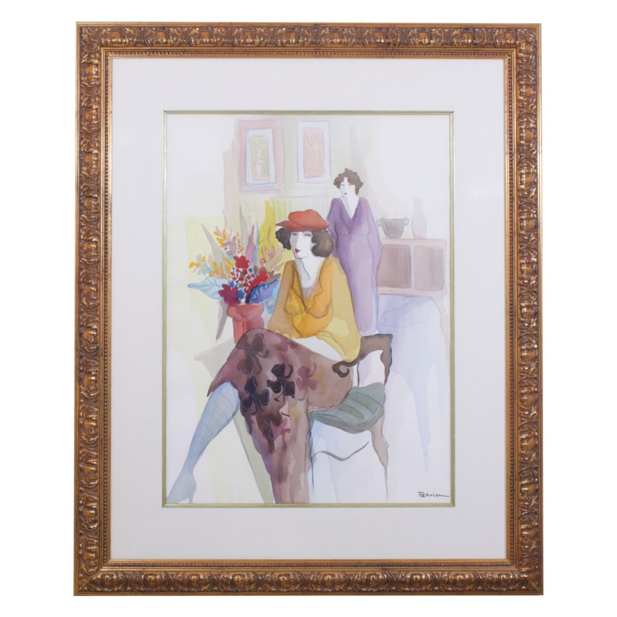 Patricia Govezensky Watercolor Painting