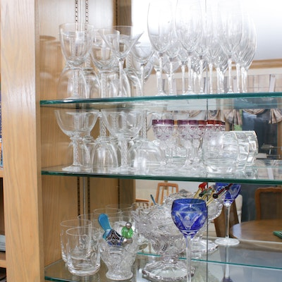 Glass Stemware Including Air Twist, Reidel and More