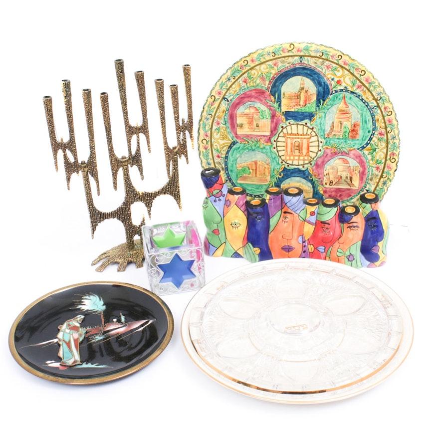 Judaica Motif Tableware Including Lenox and More