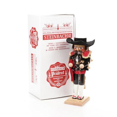 """Handcrafted German Steinbach """"Nutcracker Suite Spanish Dancer"""" Nutcracker"""