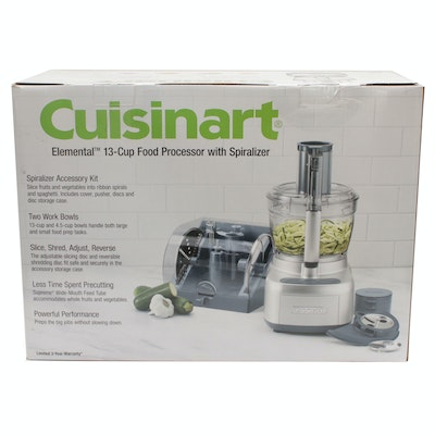 Cuisinart Elemental 13-cup Food Processor with Spiralizer