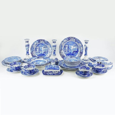 "Spode ""Blue Italian"" Dinnerware and Tableware"