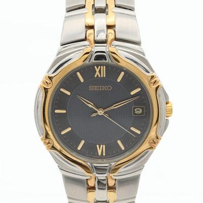 Seiko 7N42-6C10 Two Tone Quartz Wristwatch