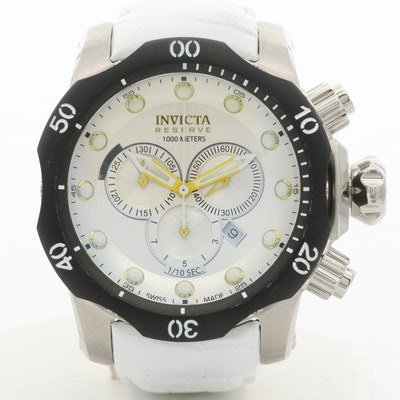 Invicta Venom Stainless Steel Quartz Chronograph Wristwatch