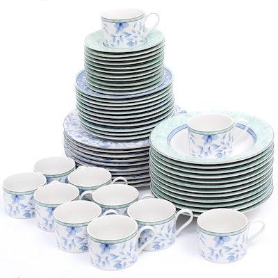 """Johnson Bros. """"Blue Savanna"""" Stoneware Dinnerware, 1990s"""