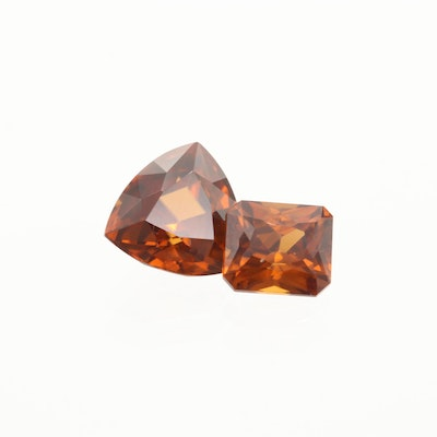 Loose 9.08 CTW Zircon Gemstones