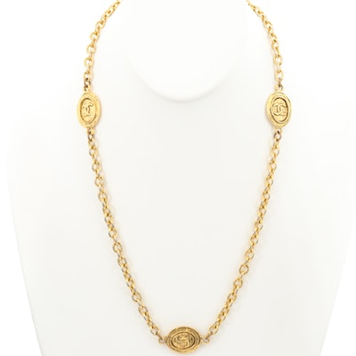 Circa 1970s Chanel Link Necklace