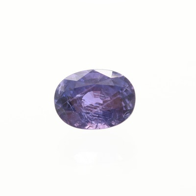 Loose 5.71 CT Color Changing Sapphire Gemstone