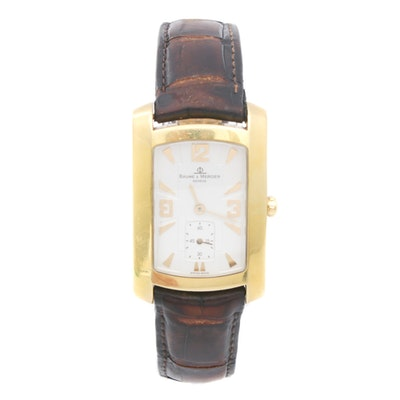 Vintage Baume & Mercier 18K Gold Wristwatch